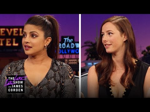 Priyanka Chopra & Kaya Scodelario: Future Bond Girls? Future James Bonds?