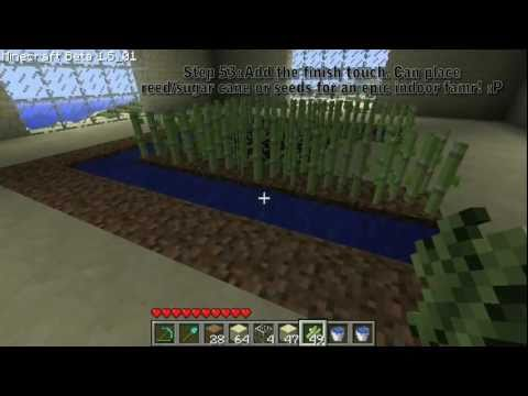 Minecraft: Building a Sandcastle Part 5 - The 3rd Floor [Farm]