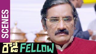 Rowdy Fellow Telugu Movie Scenes   Rao Ramesh Fails to get Ministry   Nara Rohit   Vishakha Singh - TELUGUFILMNAGAR