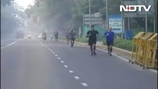 New Delhi Gears Up For Half Marathon Amid Air Pollution Concerns - NDTV