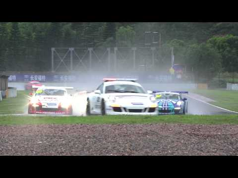 Round 4 - In the Rain! Porsche Carrera Cup Asia 2014