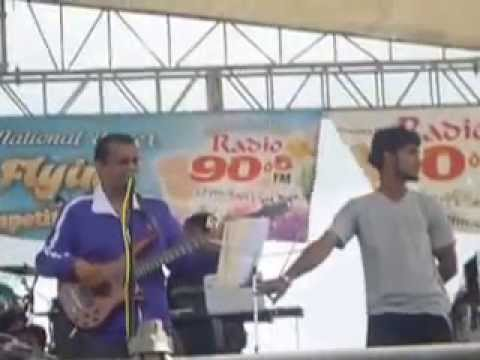 Rennie Ramnarine performance at the 90.5 fm Annual Kite Flying Competition