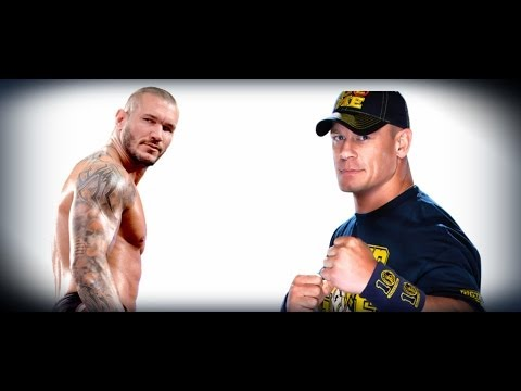 The History Of John Cena & Randy Orton Going Into WWE TLC 2013 - Must See