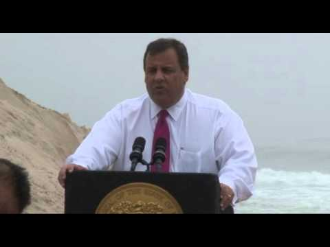 Governor Christie: This is the First Symbol