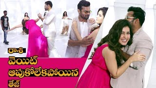 Prathi Roju Pandage Movie Song Making Video || Sai Dharam Tej, Raashi Khanna || IndiaGlitz Telugu - IGTELUGU