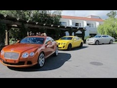 2012 Bentley GT: Orange Flame