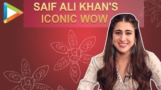 EPIC: Sara Ali Khan was asked to imitate Saif Ali Khan's iconic WOW & this how she REACTED - HUNGAMA