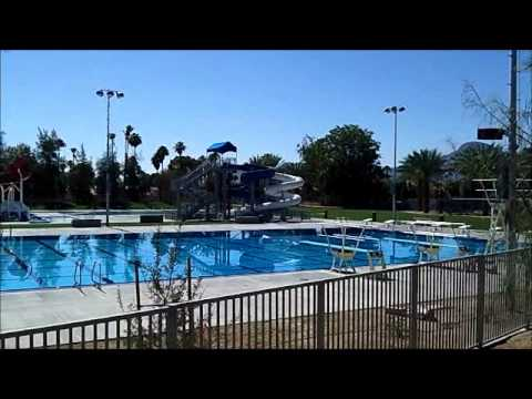 Palm Desert Aquatic Center Pre-Opening