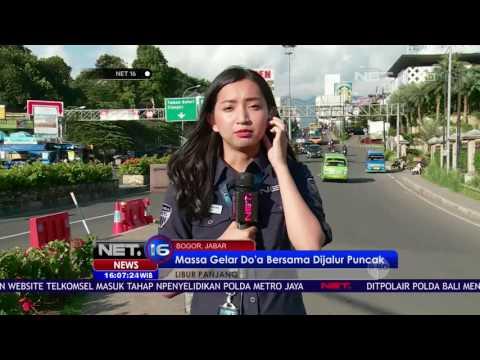 Live Report - Lalu Lintas Puncak Bogor pada Libur Akhir Pekan NET16