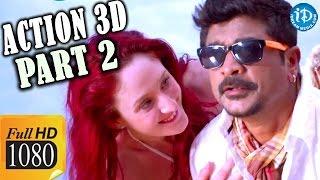 Action 3D Full Movie Parts 2     Allari Naresh, Shaam, Vaibhav, Raju Sundaram    Bappilahari - IDREAMMOVIES