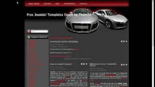 'Auto Mania 1' Free Joomla 1.5.x Template - How to Edit CSS (Video Tutorial) view on youtube.com tube online.