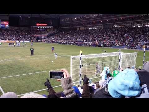 First part of MLS Cup 2013 PKs