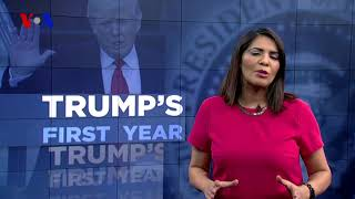 VOA Special Report: Trump's First Year - VOAVIDEO