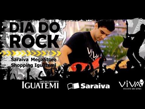 VIVA Escola de Artes - Professores tocam Joe Satriani no Dia do Rock - Saraiva MegaStore