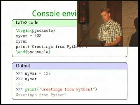 Image from PythonTeX: Fast Access to Python from within LaTeX