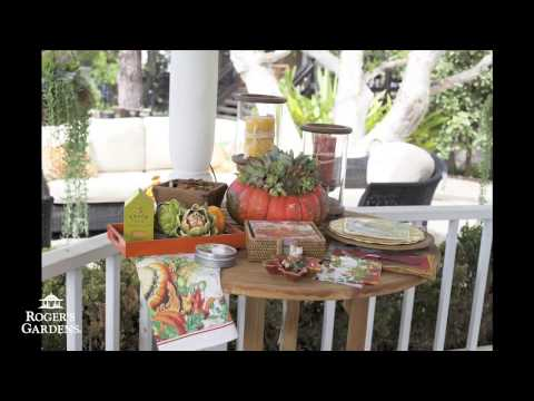 Fall Tablescape Décor Ideas with Bari Hembree