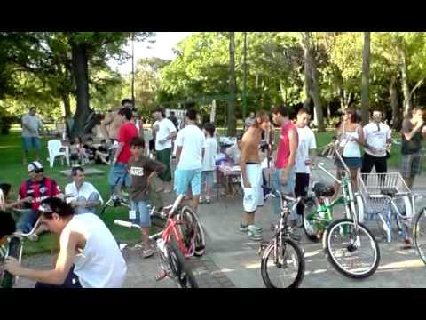 Expo bicicletas en parque avellaneda el 09-01-10