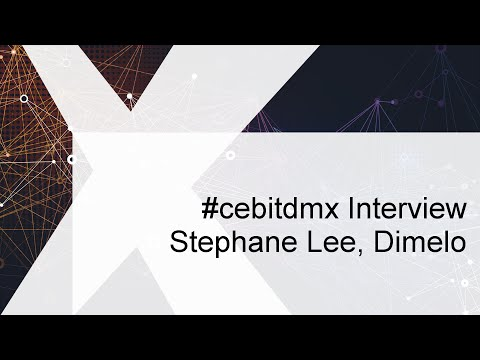 #cebitdmx Interview mit Stephane Lee, Dimelo
