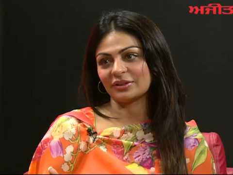 Spl. Interview with Renowned Punjabi Film Actress Neeru Bajwa on Ajit Web Tv.