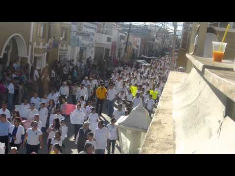 Marcha por la paz - Zapotiltic - Jalisco 1/2