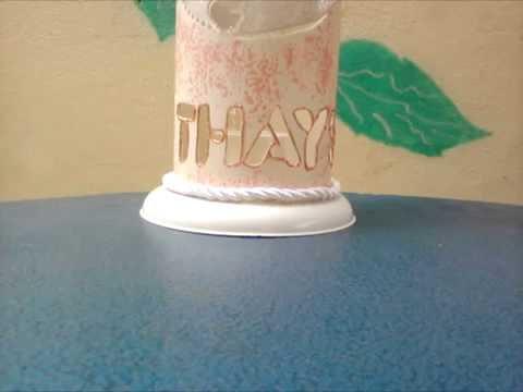 Criando uma luminaria PVC