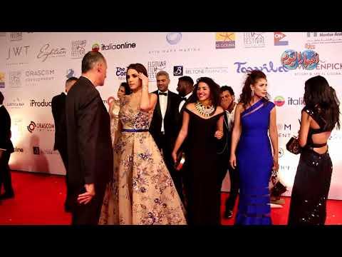 أخبار اليوم | سيلفي.. نجوم فيلم الشيخ جاكسون في افتتاح مهرجان الجونة السينمائي الاول