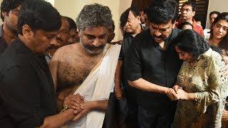 Chiranjeevi Pays Homage To Devadas Kanakala   Tollywood News - TFPC