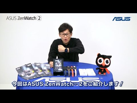 EC動画制作実績:ASUS ZenWatch™ 2 製品紹介映像