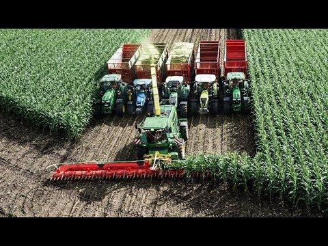 El cabezal de cosechadora más grande del mundo !