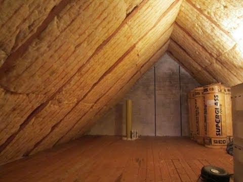Wie dämmt man ein dach von innen