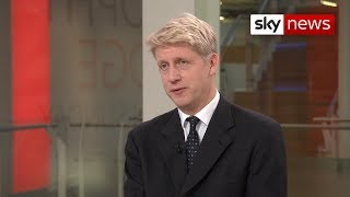 Former minister Jo Johnson on the 'flat no' given by Brussels to the PM over the backstop changes - SKYNEWS