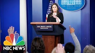 Watch Live: White House Press Briefing - April 23, 2018 - NBCNEWS