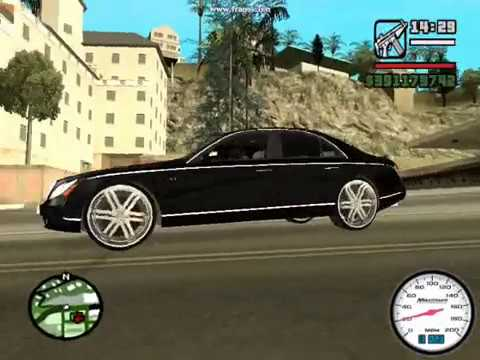 GTA SAN ANDREAS CHEVY DONK MOD PART 5 AND BIKE STUNT