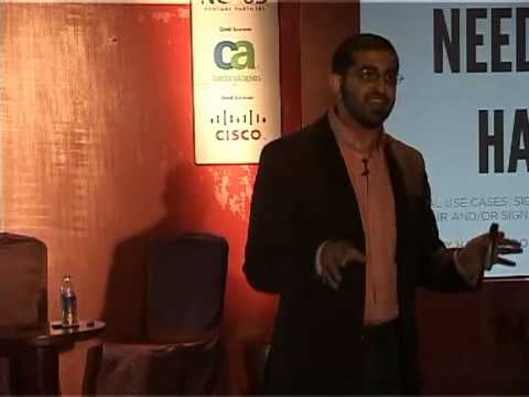 NASSCOM PRODUCT CONCLAVE 2012 - Paul Singh, An Entrepreneur.(PART -1)