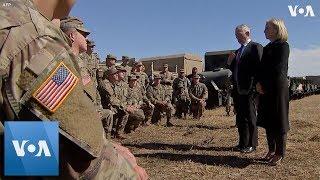 Mattis Visits US Southern Border - VOAVIDEO
