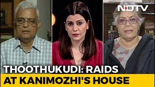 DMK Leader Kanimozhi's House Raided In Tuticorin - NDTV