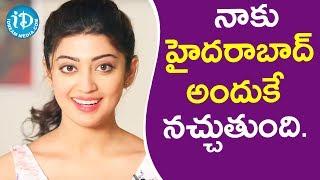 నాకు హైదరాబాద్ అందుకే నచ్చుతుంది. - Actress Pranitha || Talking Movies With iDream - IDREAMMOVIES