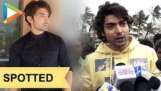 Gurmeet Singh Choudhry SPOTTED promoting his film Paltan - HUNGAMA