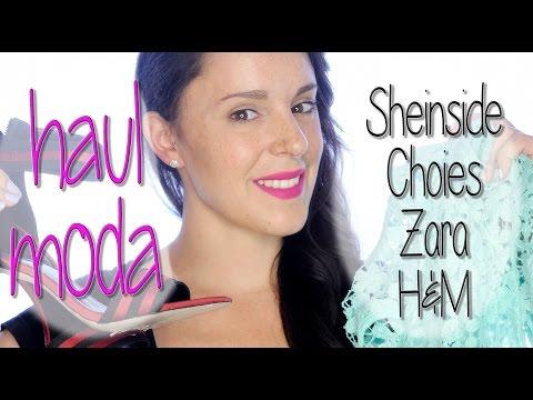 Haul de ropa, Sheinside, Choies, Zara y H&M | Silvia Quiros
