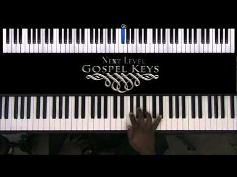Gospel Keyboard Lessons Db Progression