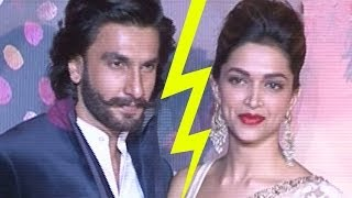 Problems between Ranveer Singh &  Deepika Padukone ?
