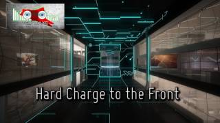 Royalty Free :Hard Charge to the Front