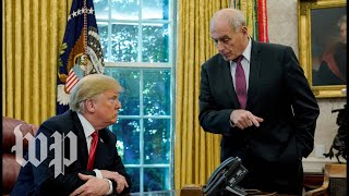 A look back at John Kelly's relationship with President Trump - WASHINGTONPOST
