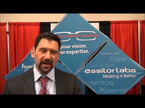 OJO John McManus of Essilor Ophthalmic Business Consultants ASCRS 2013