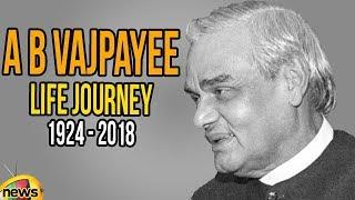 Atal Bihari Vajpayee Life Journey | Indian Ex PM Vajpayee Passed Away | AB Vajpayee | Mango News - MANGONEWS