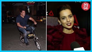 Salman Khan's Night e-Cycling Ride, Kangana Ranaut Inspired By Women & Their Stories | Fit To Fight - ZOOMDEKHO