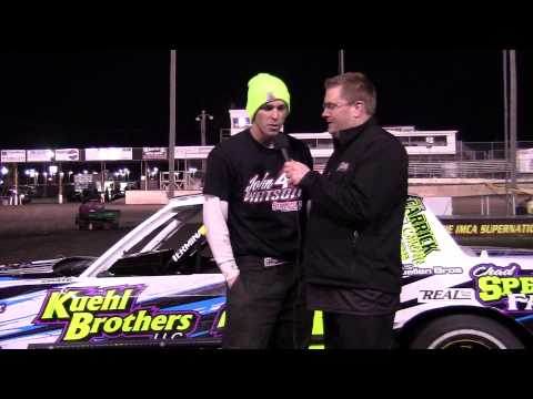 Austin Luellan Hobby Stock Feature winner 04/13/13