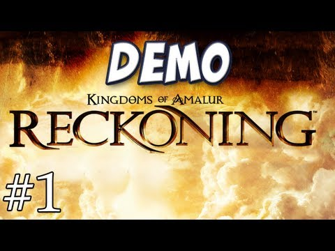 Hannah Plays Kingdoms of Amalur Reckoning Demo
