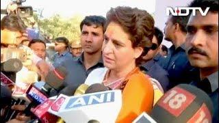 पीएम मोदी के गढ़ में प्रियंका गांधी, कहा- लोगों का दुख-दर्द जानने आई - NDTVINDIA