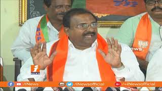 BJP MLC Somu Veerraju Corruption Allegations On TDP Govt | iNews - INEWS